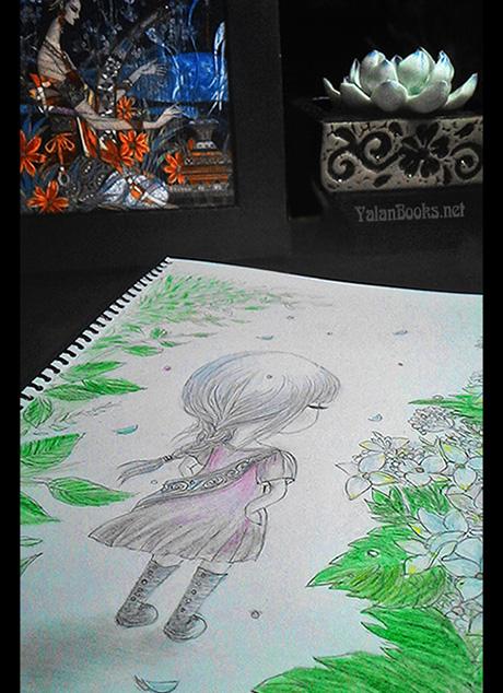 Art Taipei life Flowers Kid Romanticism 台北生活 艺术绘画 儿童 花卉 浪漫主义 Yalan雅岚 黑摄会